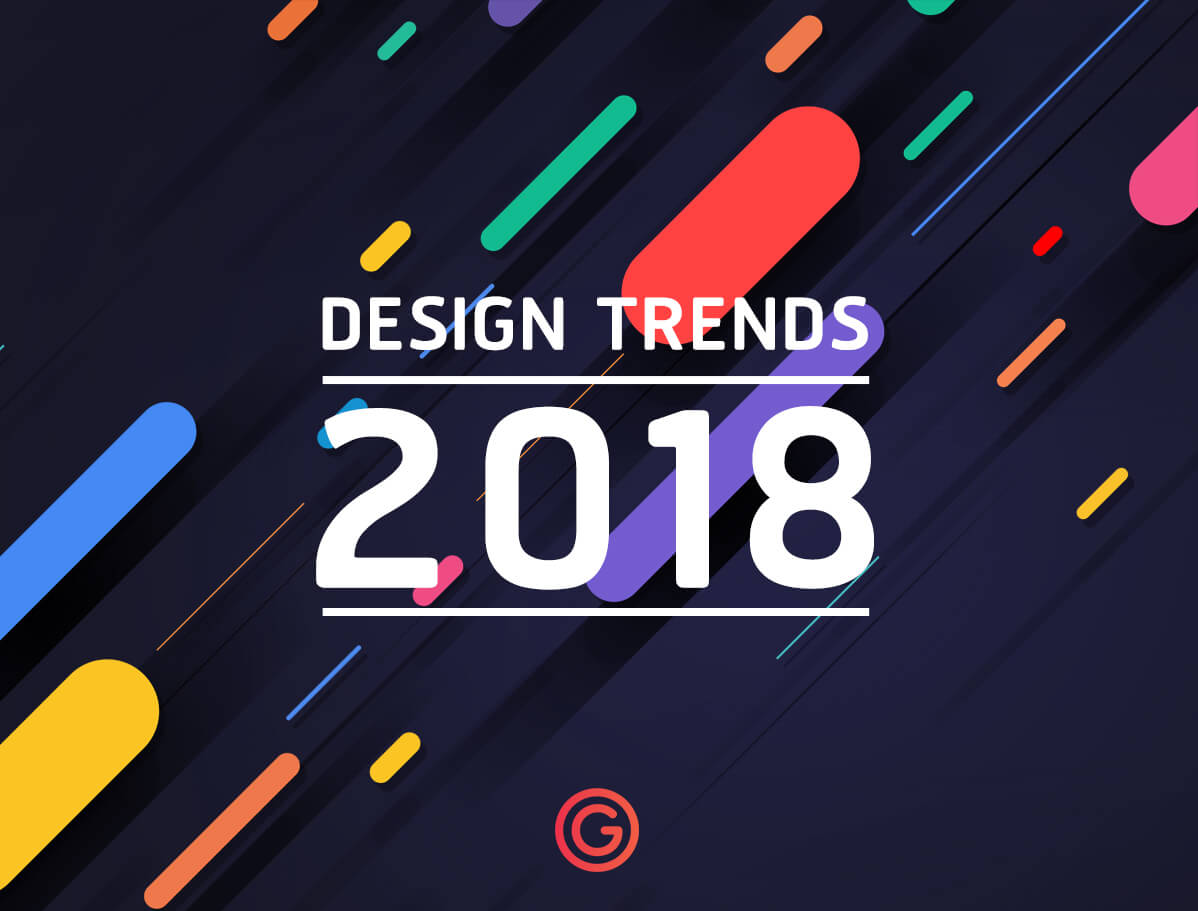 Graphic design trends 2018 2018 grappik Create a blueprint online
