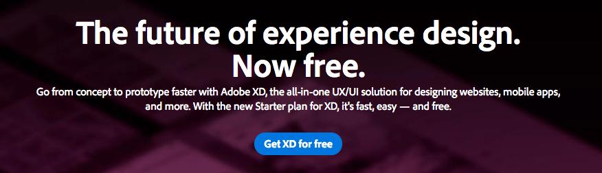 โปรแกรม Adobe XD