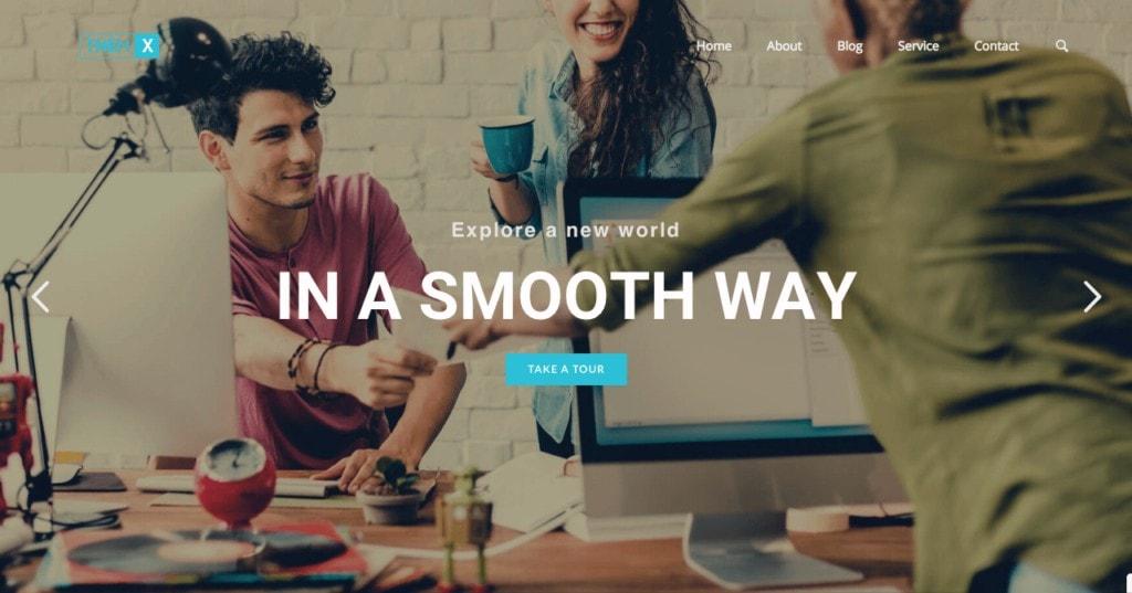 Theme WordPress ฟรี