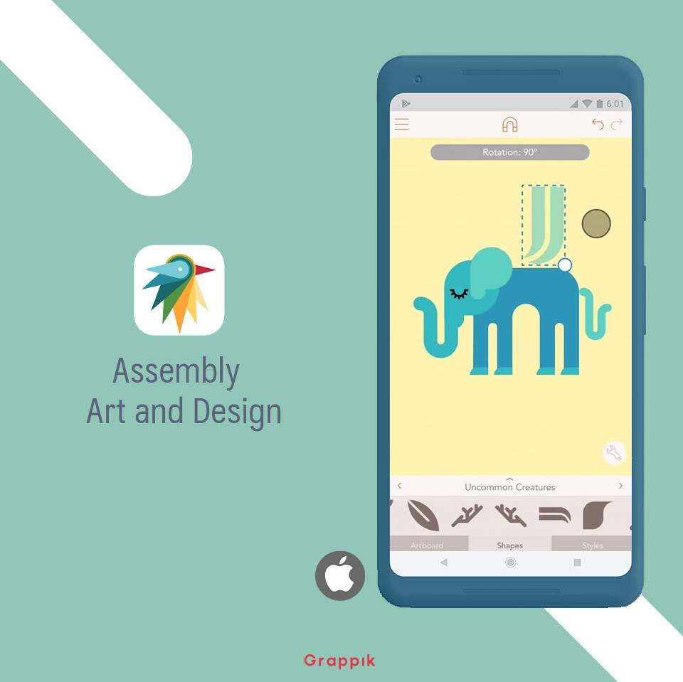 Assembly Graphic Design App For Android