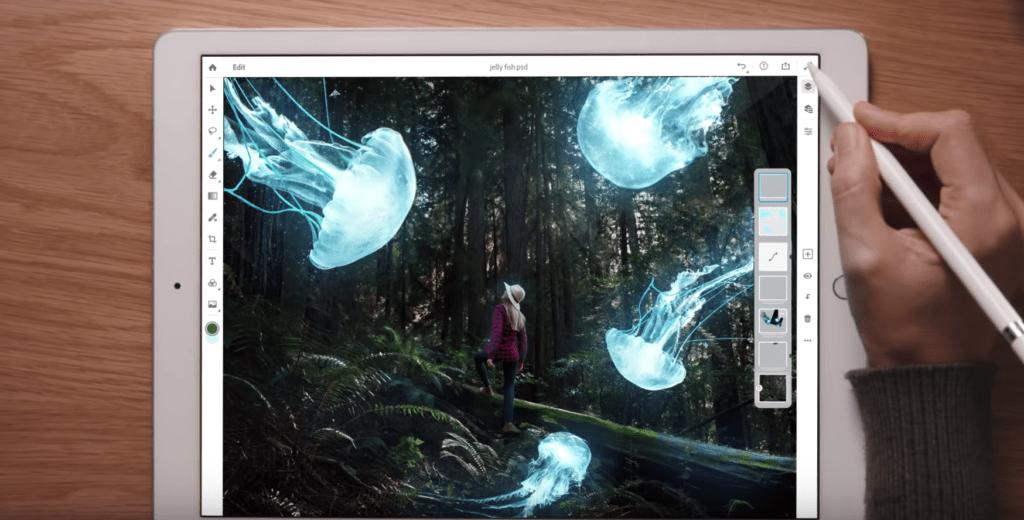 Adobe Photoshop CC บน iPad