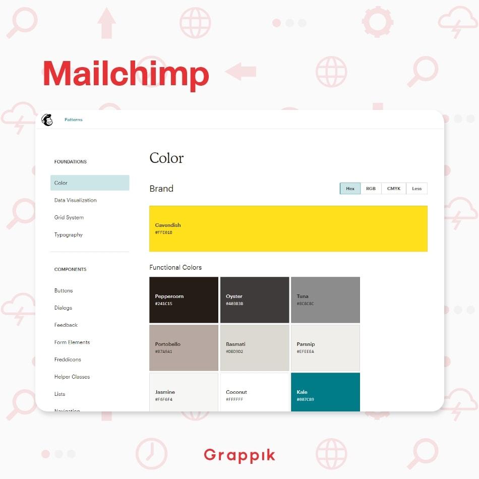 ออกแบบ Design System จากตัวอย่างบริษัท Mailchimp