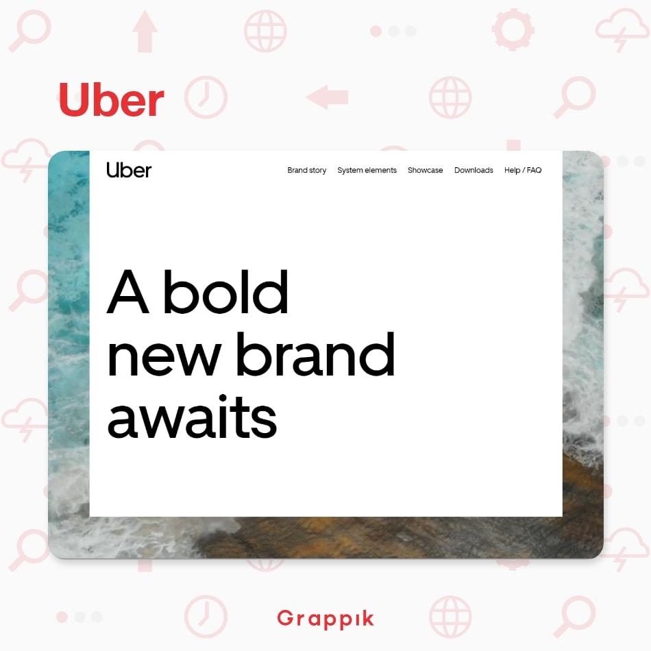ตัวอย่าง Design System ของบริษัท Uber