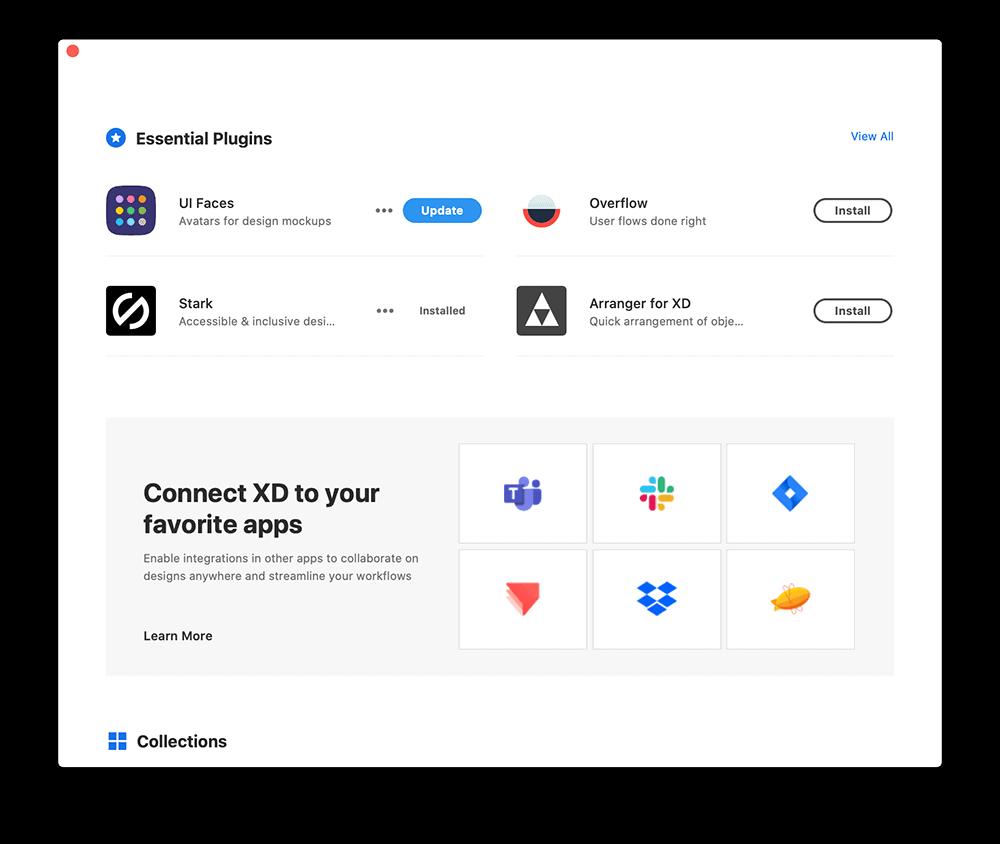 Discover Plugins ในโปรแกรม Adobe XD