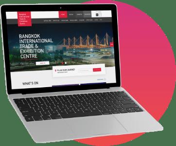 ตัวอย่างงาน บริการออกแบบและพัฒนาเว็บไซต์