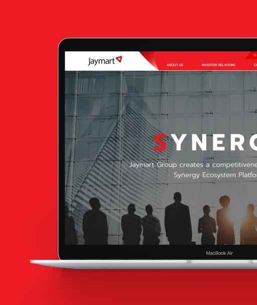 ผลงานออกแบบเว็บไซต์ Jaymart โดย Grappik Digital Agency